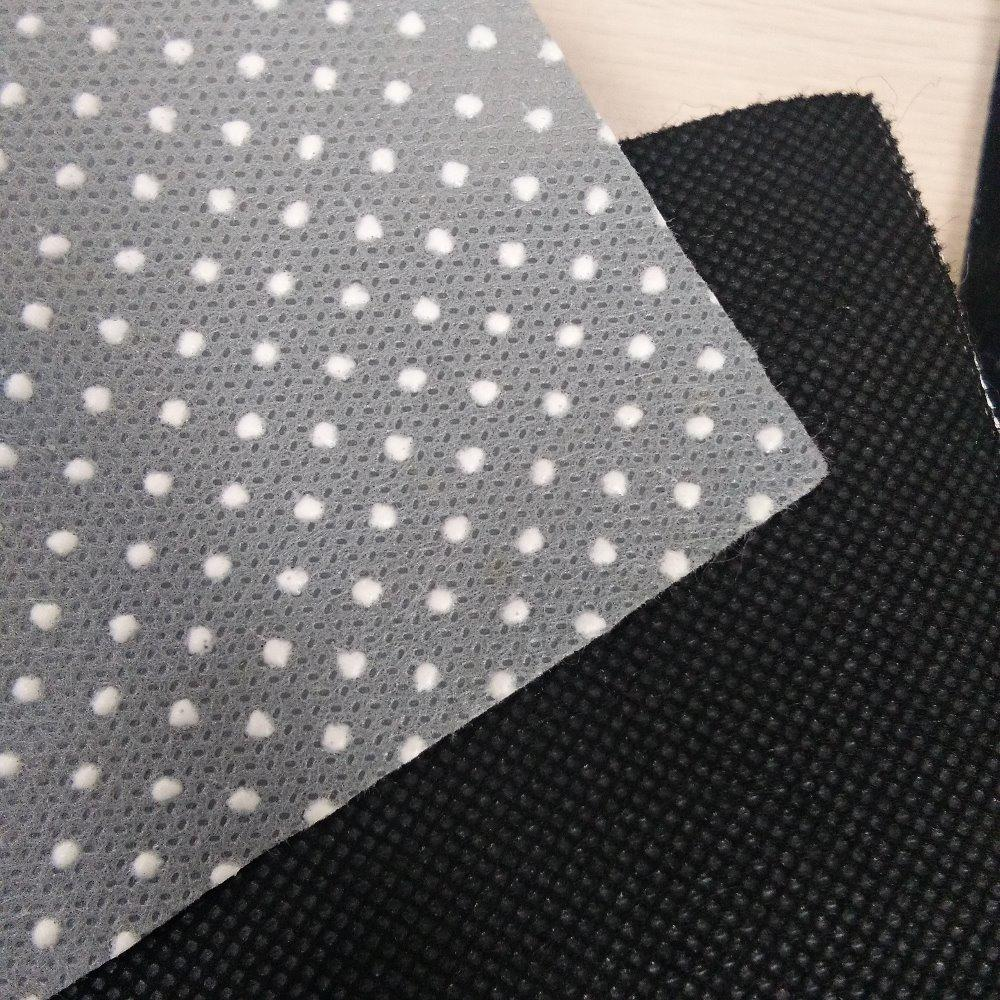 PVC Dot Anti Slip Reusable Non Woven Fabric Manufacturers
