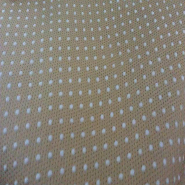 PP + PVC dot coated anti skid material nonwoven non slip fabric