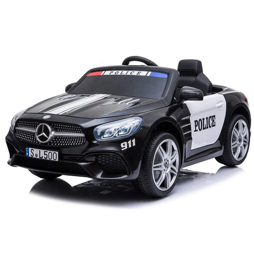 kids ride on toy 2019 12V with remote control licensed electric police car
