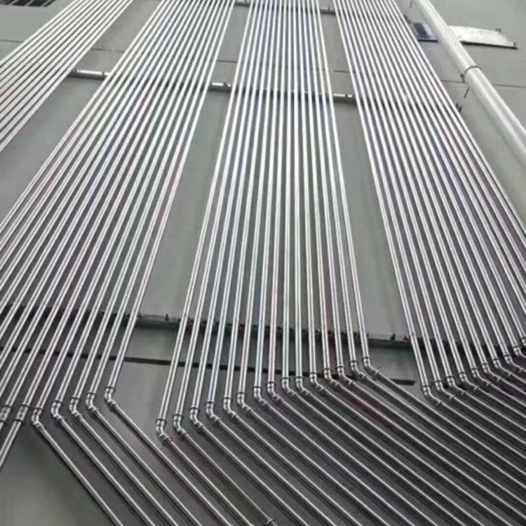 SS 304/316L stainless steel pipe application on drinking water/ construction/heating ventilation air condition