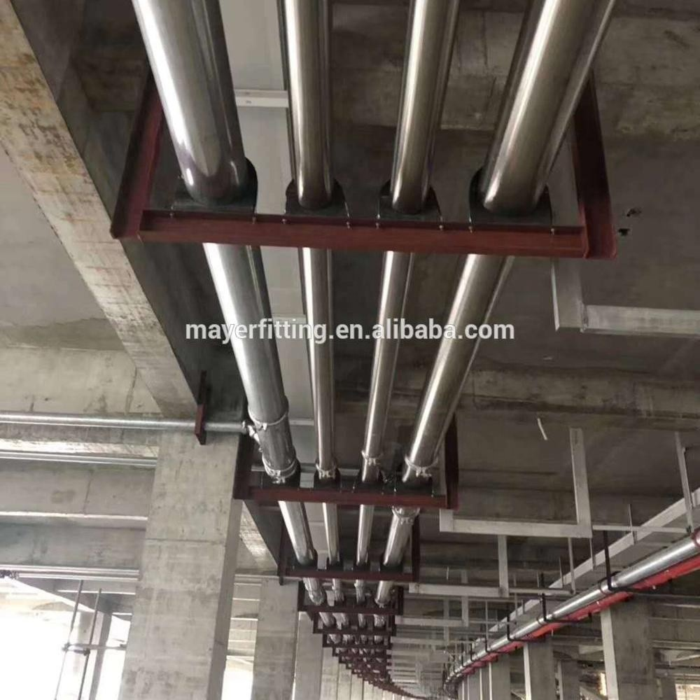 hot selling 304 stainless steel tube piping material plumbing