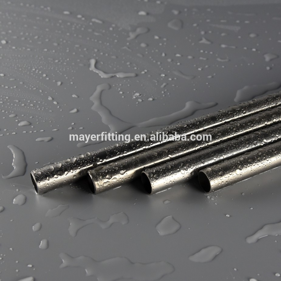 304 Stainless Steel SS 316 Round Welded Polished Seamless Pipe Factory direct sale