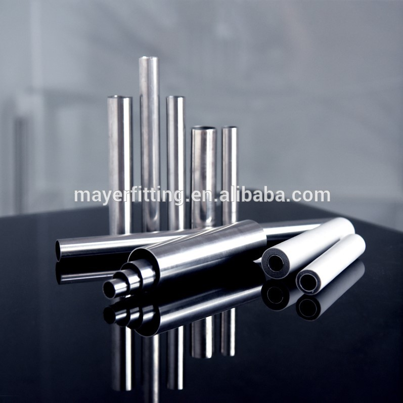 ASTM 15-300mm diameter stainless steel pipe price 304 mirror polished stainless steel pipes sanitary piping