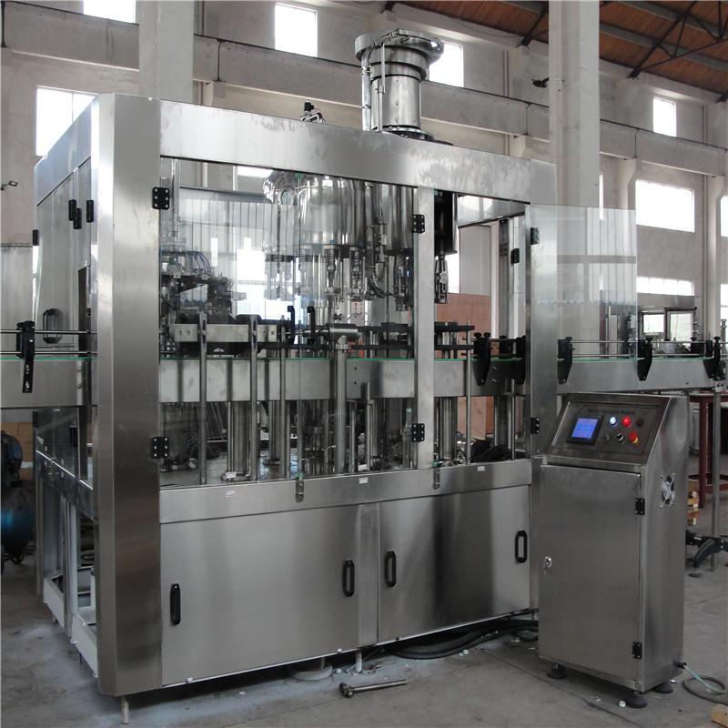 Glass Bottle Beverage Filling Machine