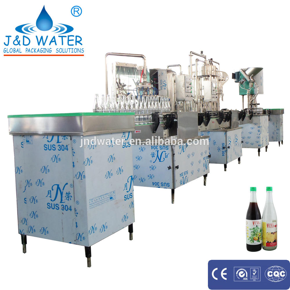 New product full automatic glass wine bottle filling machine
