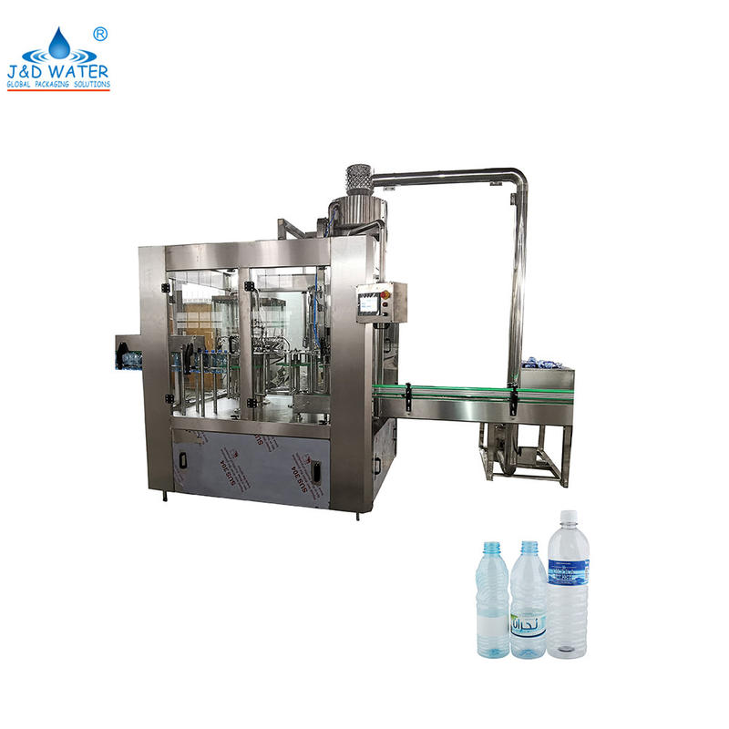 Automatic 500ml pet bottlesmall water bottling washing filling capping machine for mineral pure water