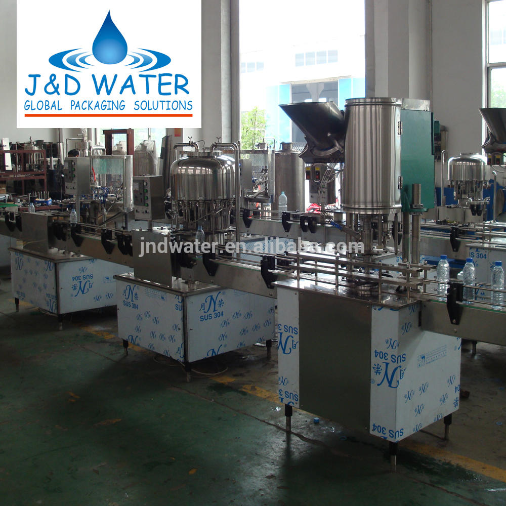 Linear Bottle Beverage Filling Machine JND12121