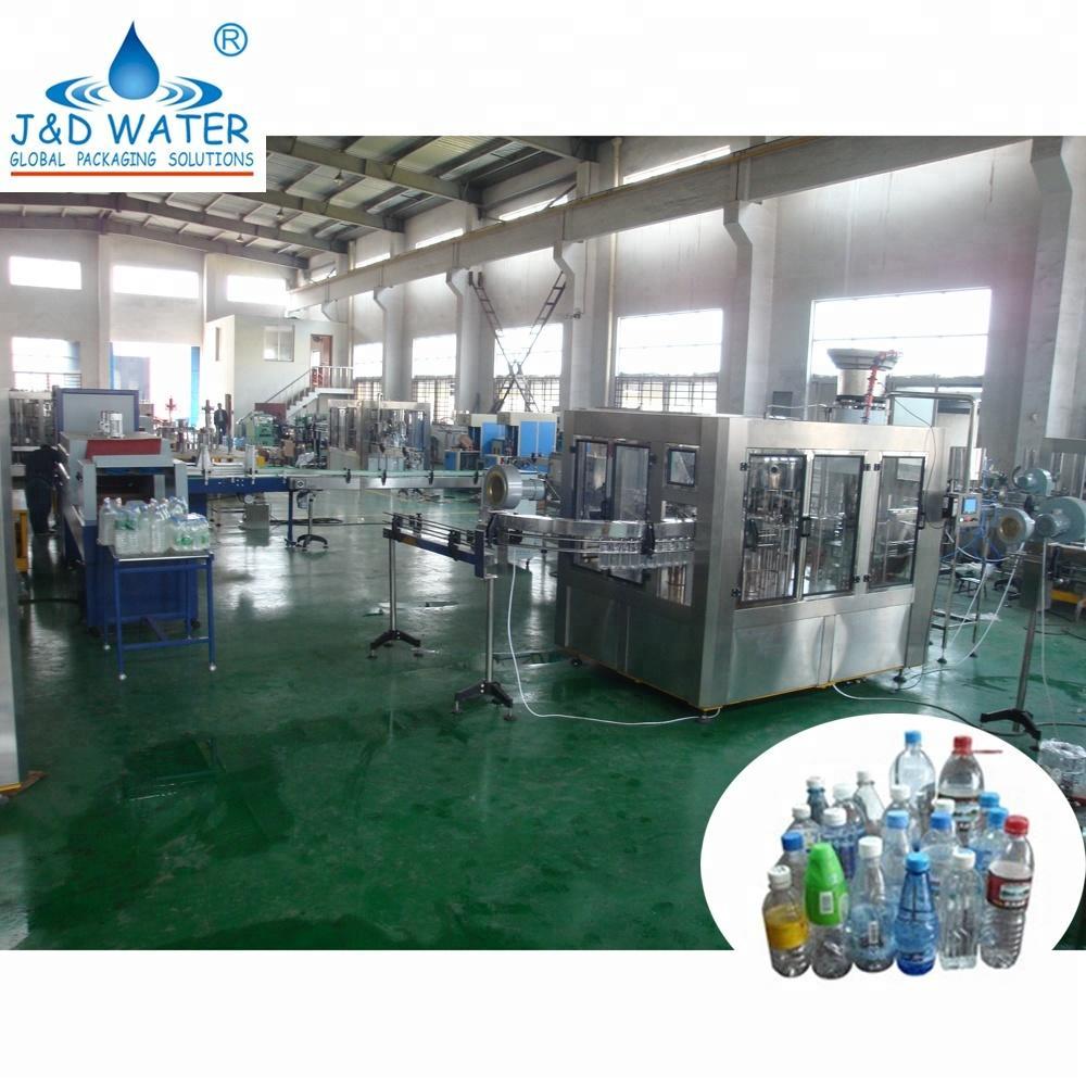 Automatic Liquid Beverage Filling Producution Line