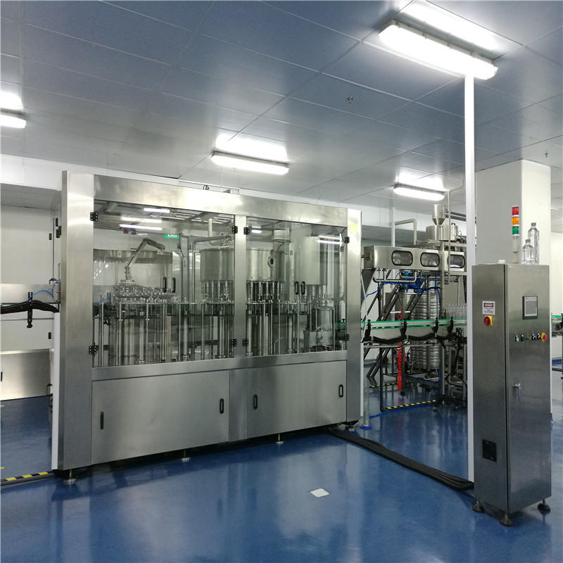 Automatic 0.1-2l pet bottle water washing filling capping machine equipment for mineral water