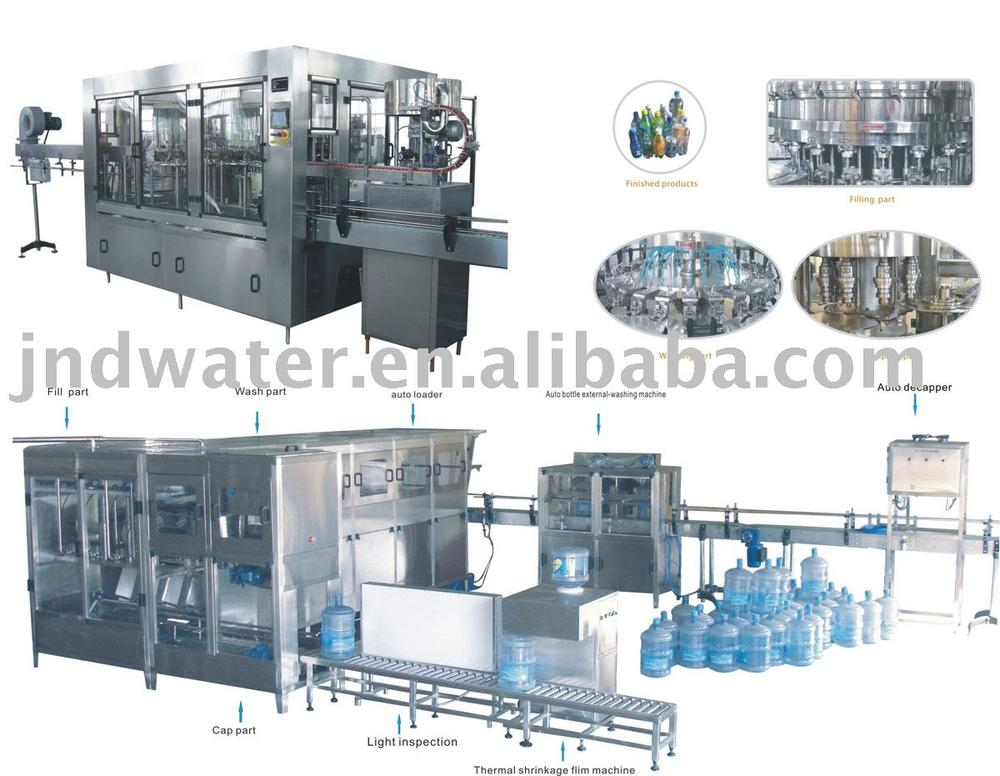 Liquid Washing Filling Capping Machine