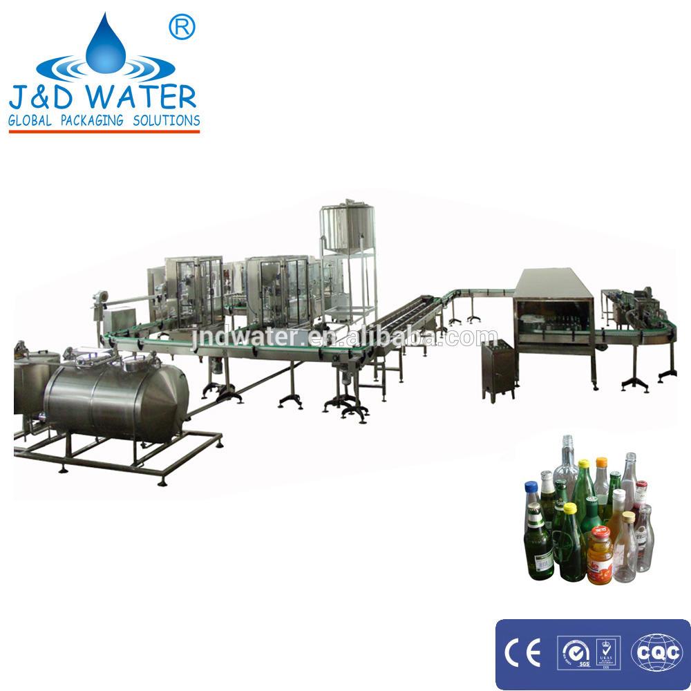 Automic machinery essential oil pet bottle filling machine
