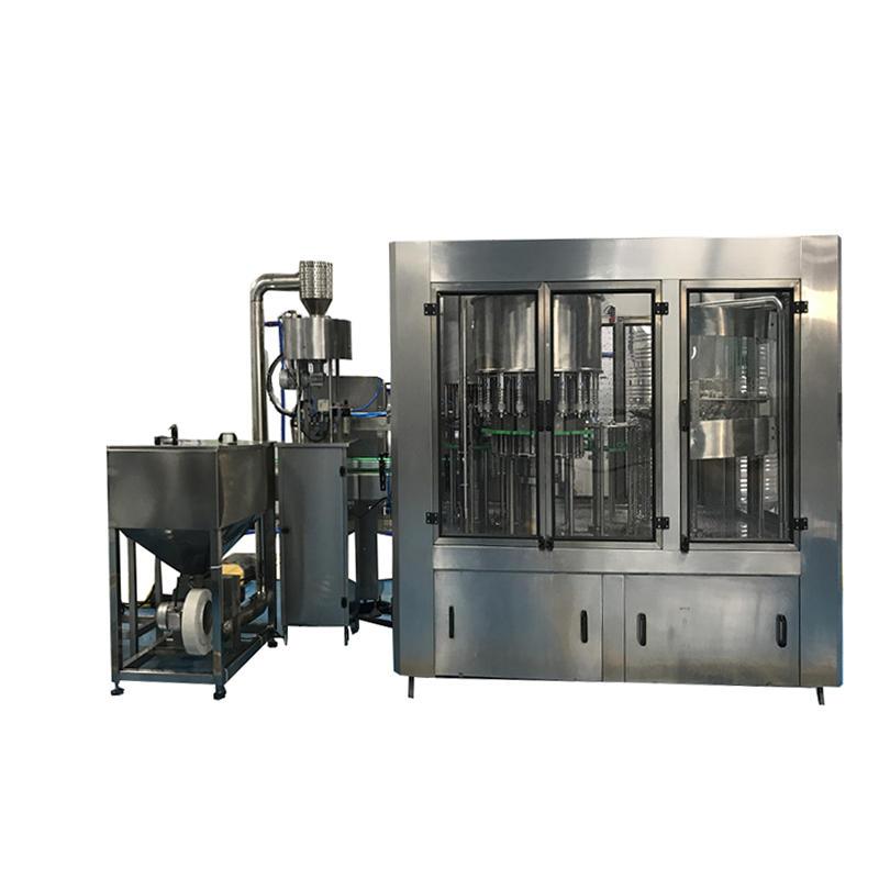 Automatic Alcohol Liquid Water 0.1-2L filling sealing machine plant