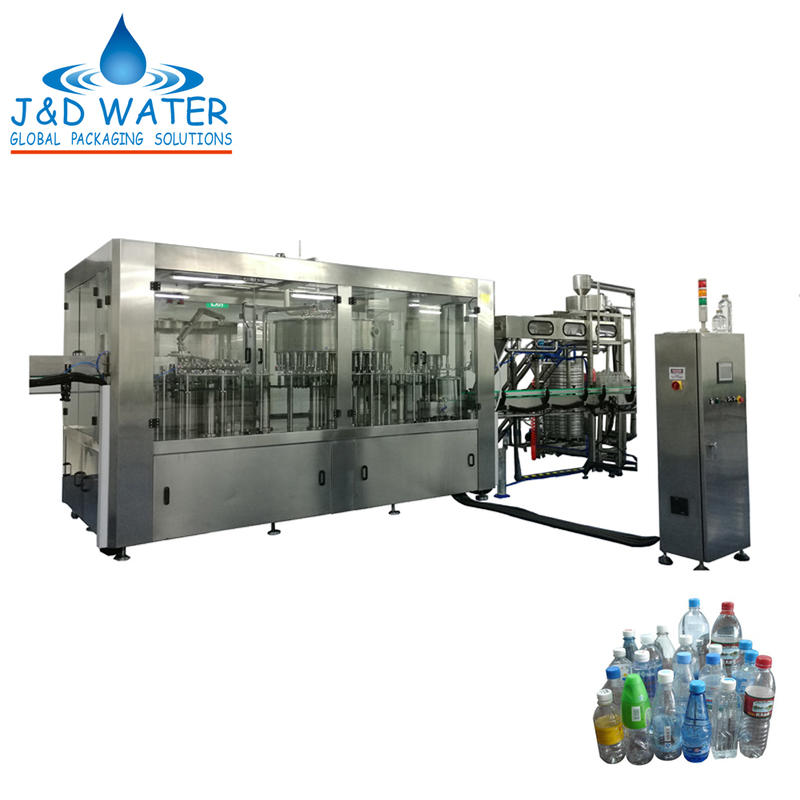CE Approved Automatic Liquid Bottle Water Filling Machine Manufactures
