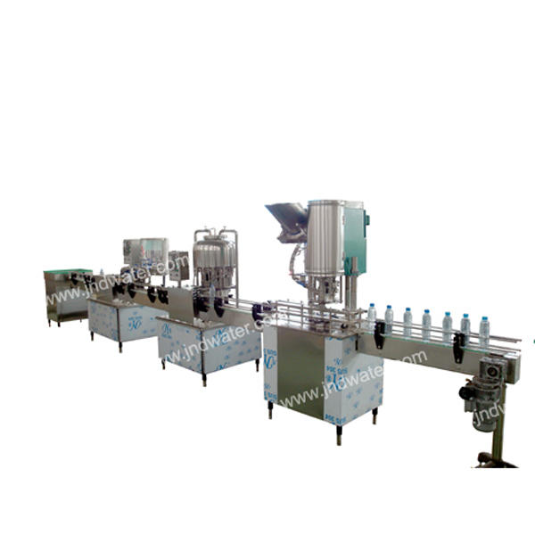 Linear Bottle Beverage Filler Machine