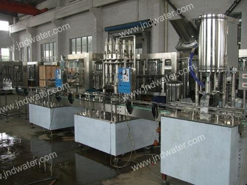 Automatic Linear PET Bottle Washing Filling Capping Machine for Hot Drinks