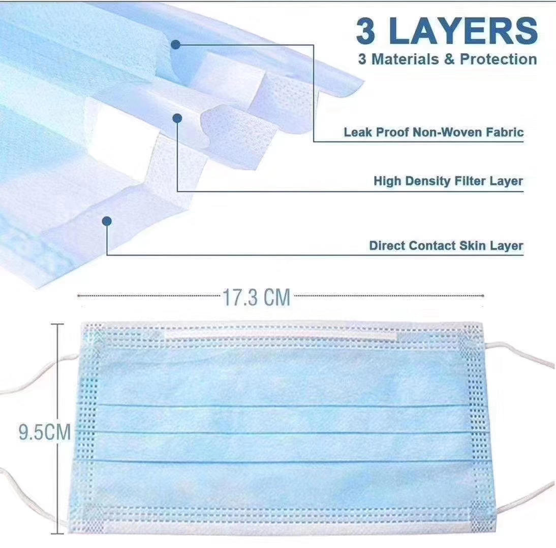 Hot Sale Melt Blown Nonwoven Fabric for Mask Middle Layer Meltblown