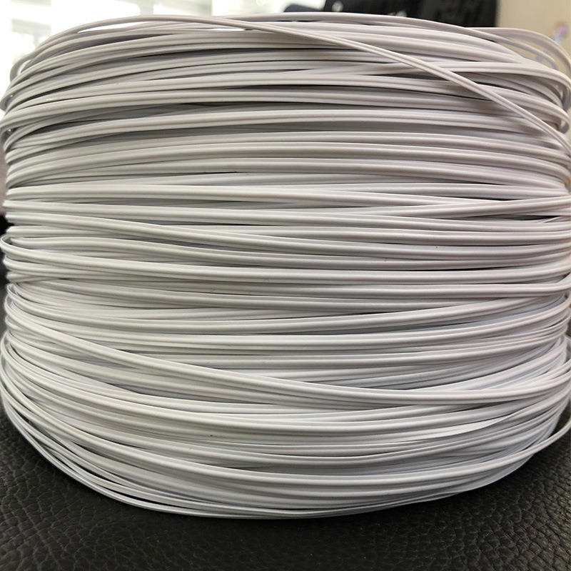 Ready to Ship 3mm Single Core Plastic Nose Bridge Bar/Nose Wire for Face Mask