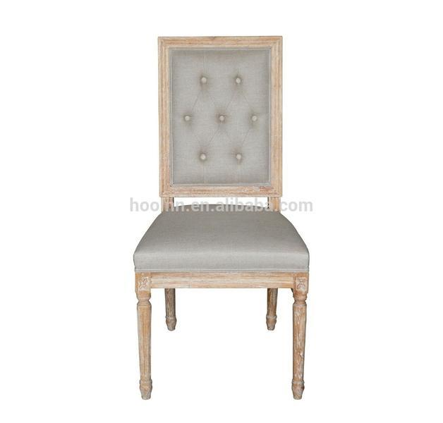 For Living Room French Style Wood Dinning Chair