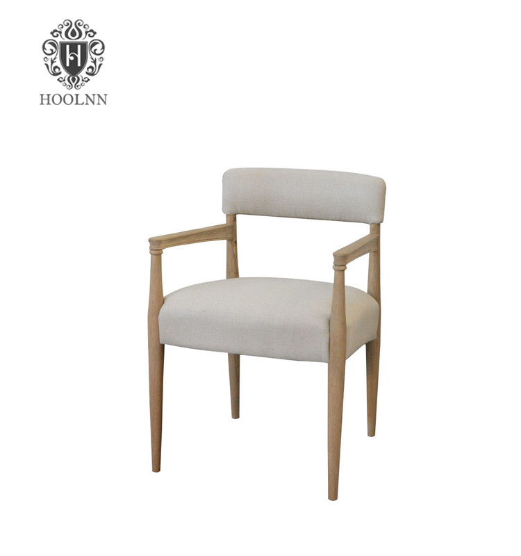 French Country-style armrest Dining Chair P0010