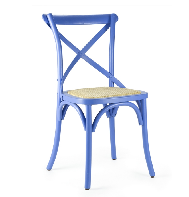 Cross Back Solid Wood Chair ED-024-1