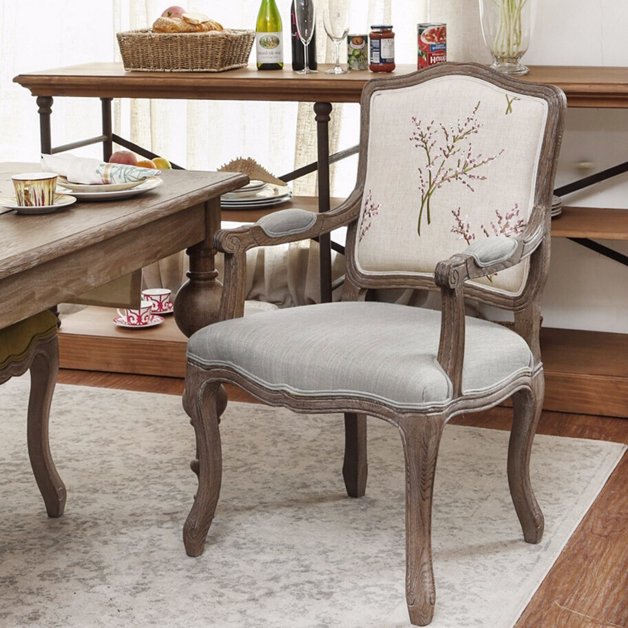 For Hotel Solid Wood Dining Chair Wooden Furniture