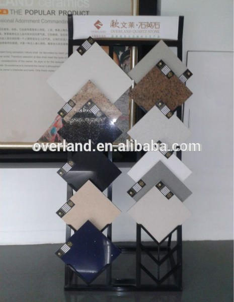 Blue Artificial Quartz Stone Countertops