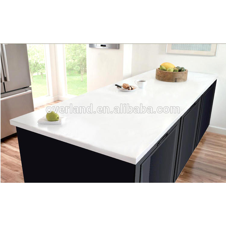Pearl white quartz countertop