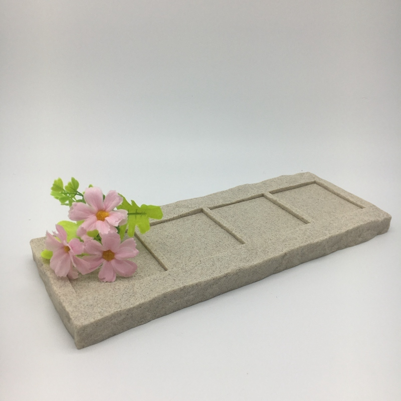 Popular Cheap Sandstone Resin Serving Tray