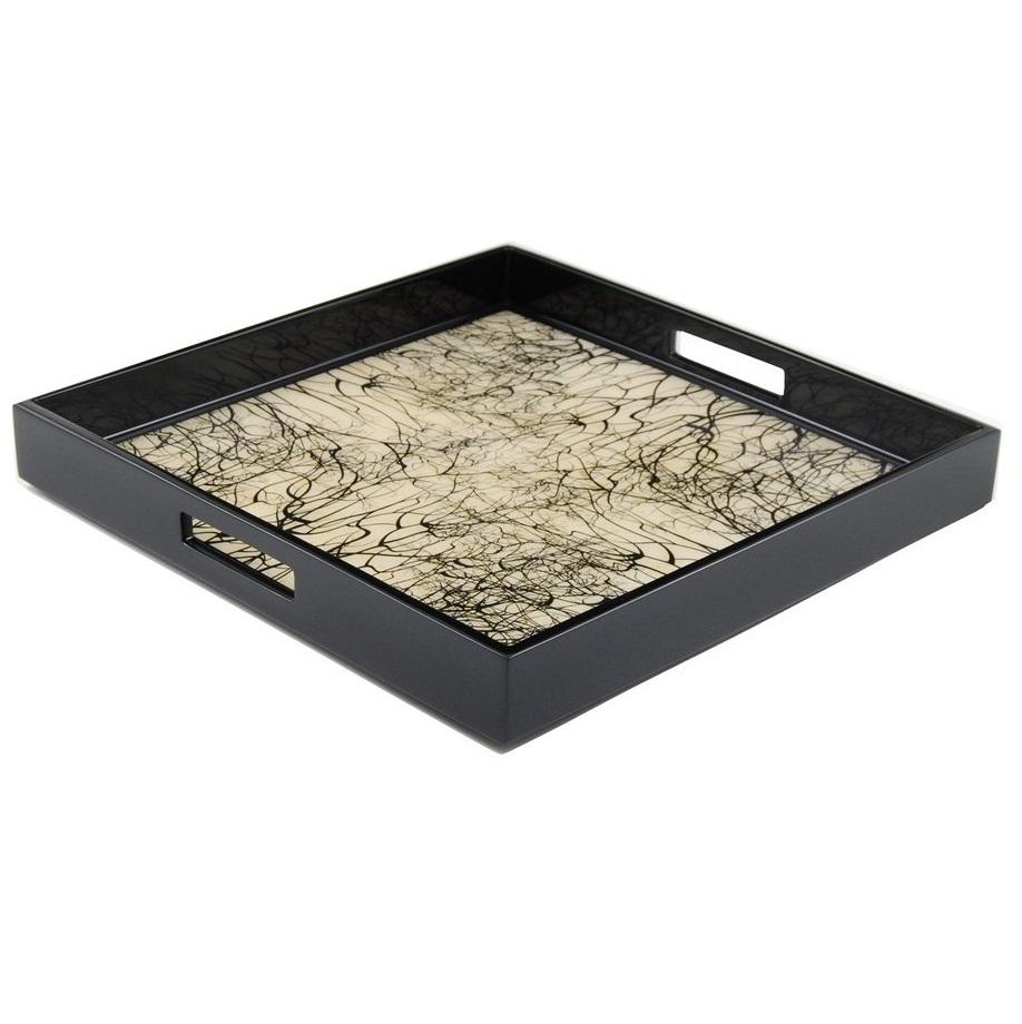 Luxury resin hotel custom bathroom accessories amenity tray set