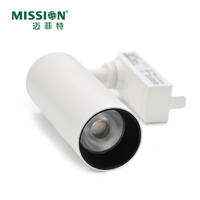 2020 New Modern LED Track Light 15w 20w IP20 CCC CE COB Adjustable Angle Cover Aluminum Body