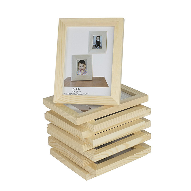 Classic custom color wooden European style picture photo frame