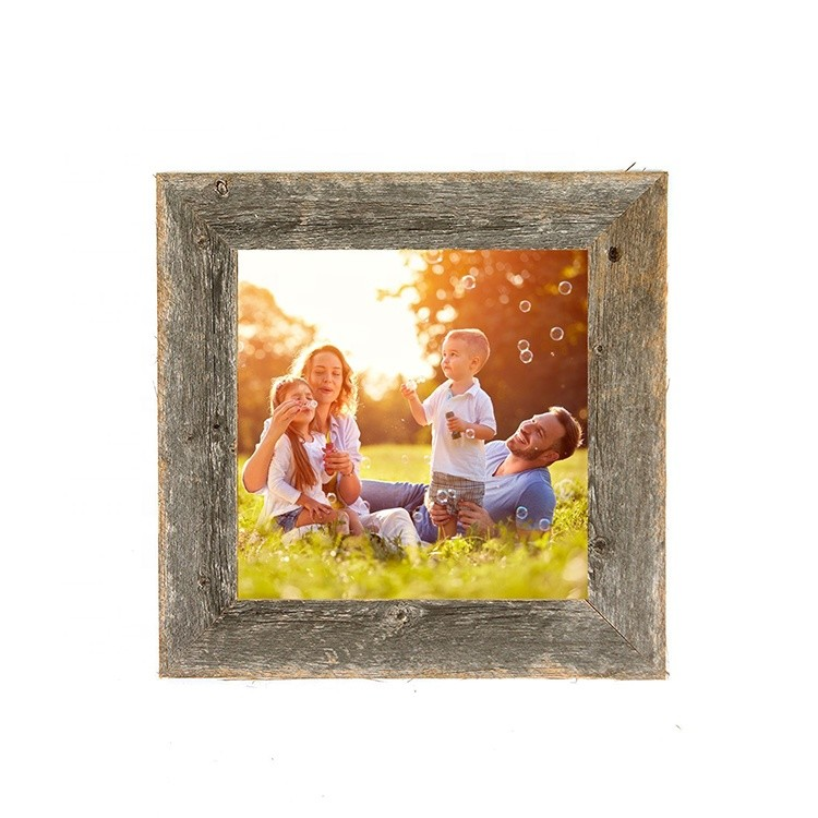 New rustic fresh style eco-friendly home decorative wood photo frame