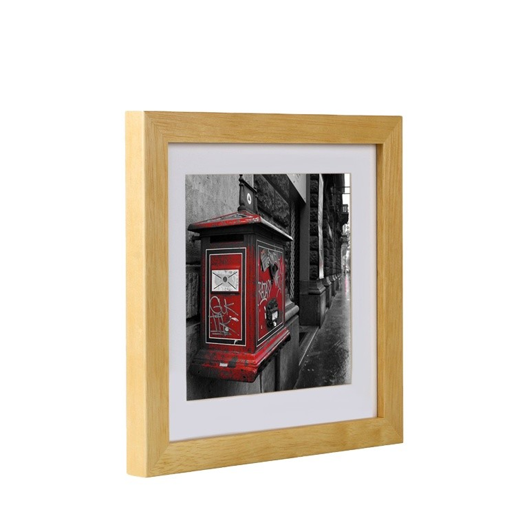 Plywood picture frame mini wooden box photo frame Material safety