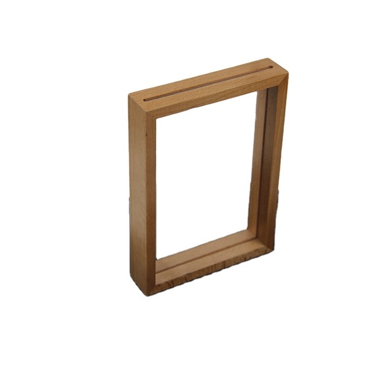 Customized color wooden picture frame for baby or family