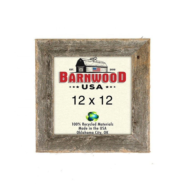 Wholesale custom hand crafted shadow box picture frame wood