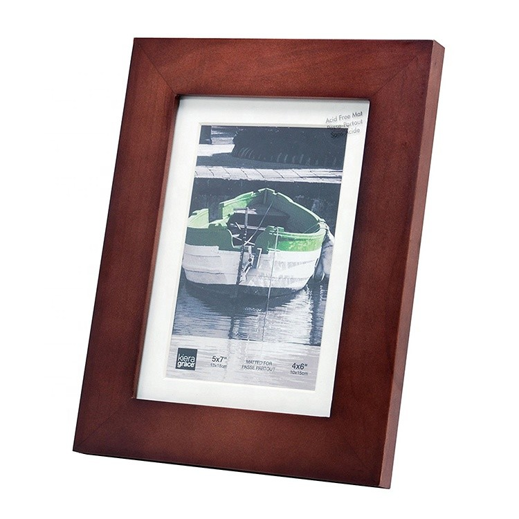Family decorative rustic MDF frame photo picture