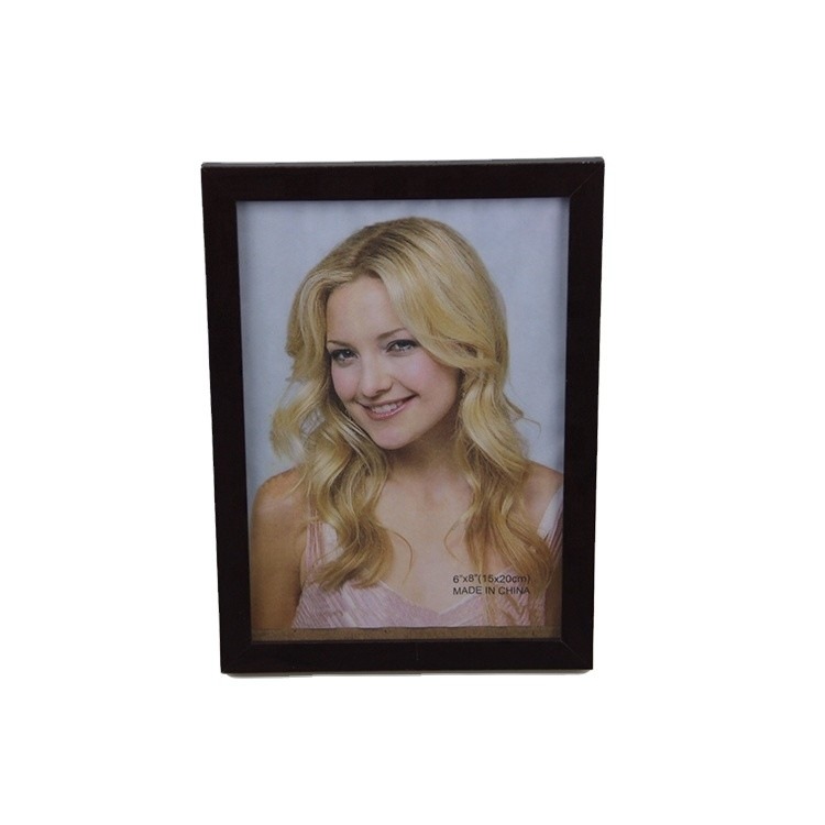 Customized size wooden picture frame from China manufacturer