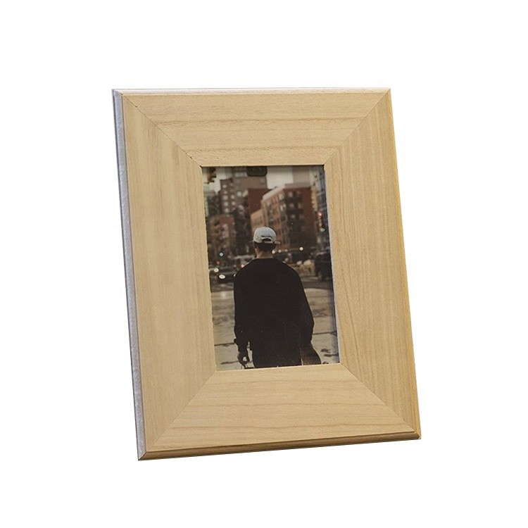 Customized personality picture shadow box unfinished wood photo frames