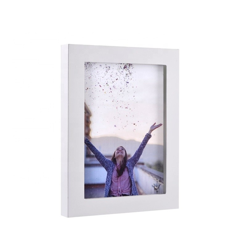 different High quality wood shadow box frame wholesale