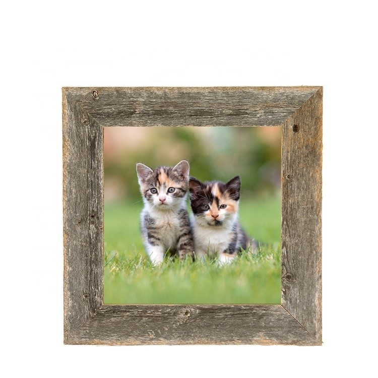 Classical painting frame 14x2 engraved wood picture frame