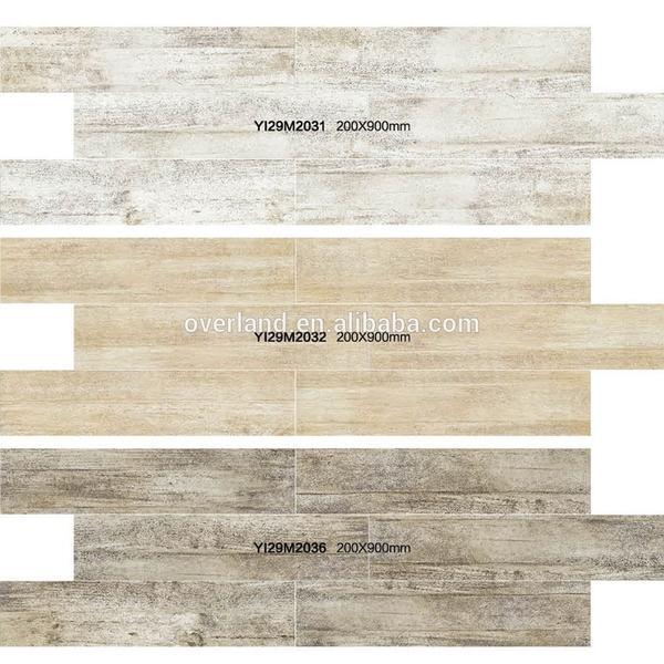 Wood style wood vein imitate faux teak wood tiles