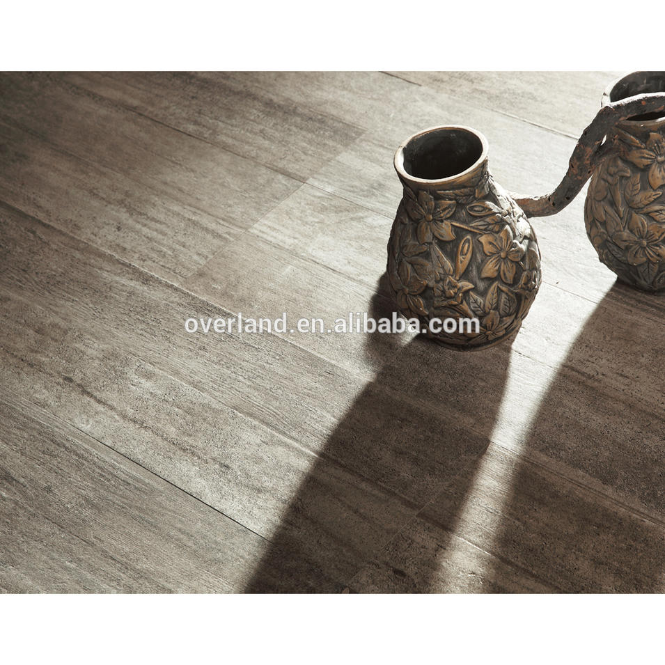 Concave Gray ceramic tile wood grain