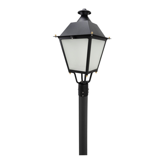Antique garden lamp aluminum light bollard best price