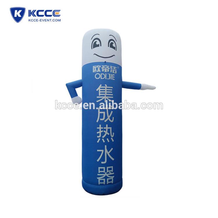 Outdoor inflatable advertising cartoon, air dancer, promotional air sealed cartoon