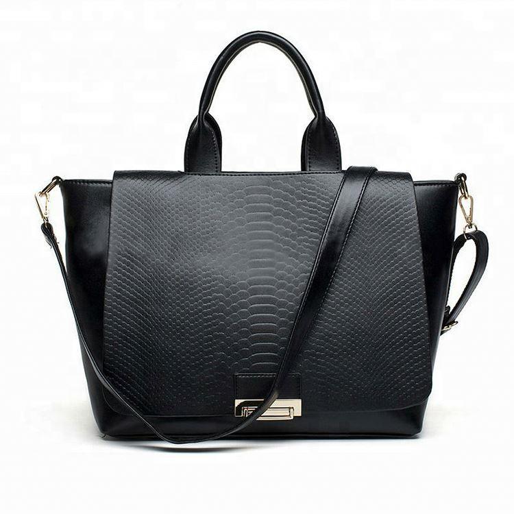 China High Quality Women Tote BagsBeautiful Python Genuine Leather Design Handbag