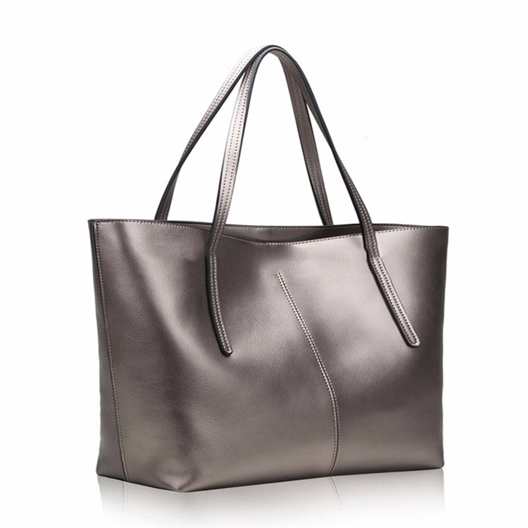 2019 Canada Tote Online Sale Leather Women's Designer Leather Bags Silver Handbags
