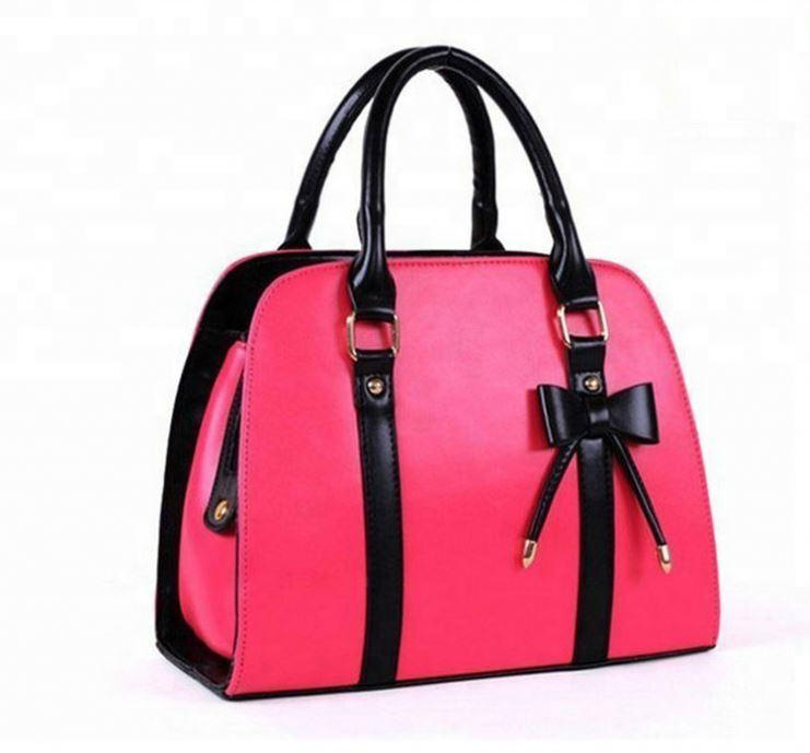 New fashion style lady handbag genuine leather designer handbag