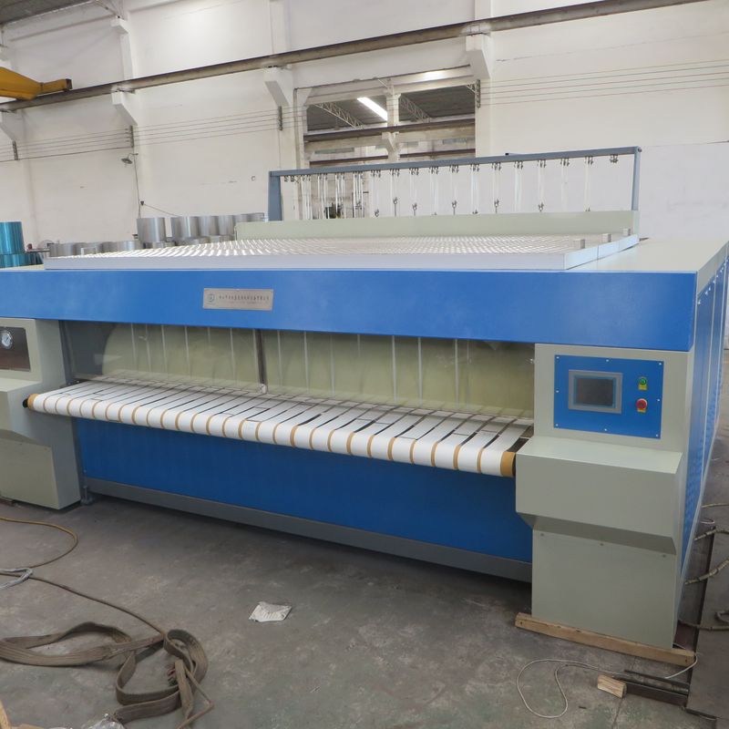High performance chest--roller style flat ironer machine for Bolivia market