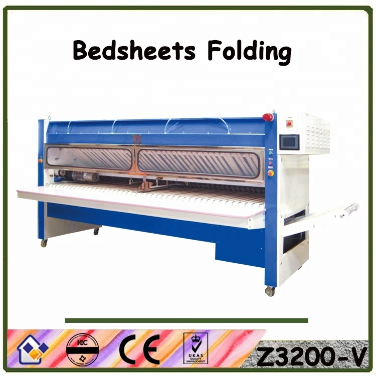 Folding machine,laundry machine for bedsheet flating