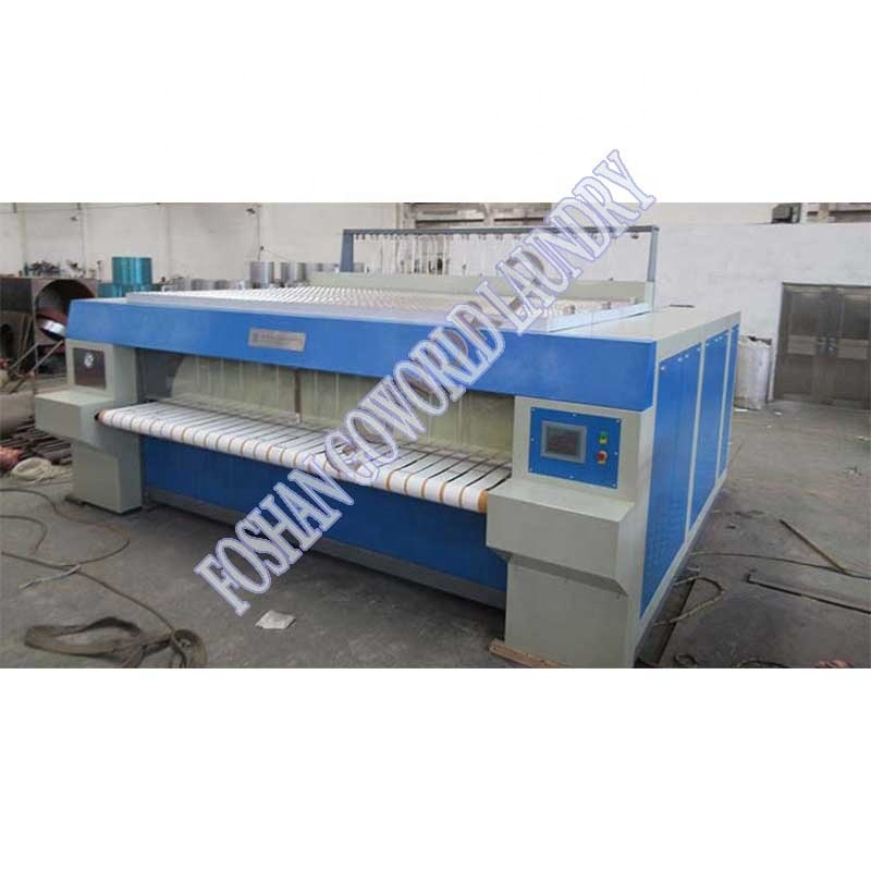 industrial ironing machine-double chest and double roller type laundry machine